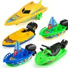 Kid Wind Up Clockwork Boat Ship Toys Play Water Bath Creative For Children A9I0