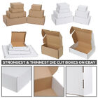 CARDBOARD BOXES SMALL PARCEL & LARGE LETTER SHIPPING POSTAL ROYAL MAIL DIE CUT