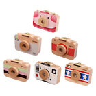 Camera Style Baby Tooth Keepsake Wooden Box Boy Girl Save Teeth Container