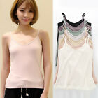 Outer Wear Pure Cotton Camisole Women's Knitted Vest Bottoming Vest Plus Size