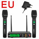 Adjustable Handheld Microphone LCD Screen Echo Equalizer Effect System 2 Pcs Mic