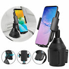 360° Universal Car Mount Adjustable Cup Holder Cradle for iPhone Cell Phone GPS