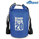 Lightweight Floating Dry Sack with Adjustable Shoulder Strap for Beach Camping