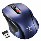 VicTsing 2.4G MM057 2400DPI Wireless Gaming Mouse Optical Mice + USB Receiver