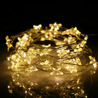 20/30/50 LED Star Lights Battery Fairy String Wire Indoor Party Bedroom Decor UK