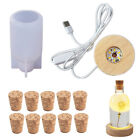 DIY Epoxy Resin Silicone Molds Bottle Lamp Mould Casting Jewelry Making Craft