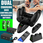For PS4/Slim/Pro Game Controller USB Dual Charging Dock Station LED Fast Charger
