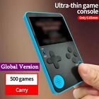 Handheld Retro Game Console Built-In 500 Classic Games 2.4 Inch Screen Gifts UK