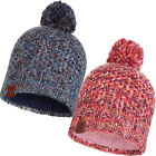 Buff Unisex Margo Chunky Knit Fleece Lined Winter Warm Polar Beanie Bobble Hat