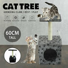 Cat Tree Scratcher Scratch Post Kitten Toy Scratching Activity Centre Climb GB