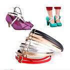 Detachable PU Leather Shoe Straps Laces Band for Holding Loose High Heel ShoHHH