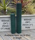 PVC Coated Chicken Wire Mesh Netting Rabbit Cage Aviary Fence Plant Net Fence