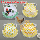 Adjustable Poultry Hen Saddle Apron Feather Protection Holder Chicken Protector
