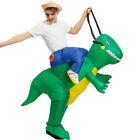 Halloween Inflatable Ride Dinosaur T-Rex Party Role Play Fancy Costume Props US