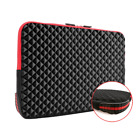 iCozzier 13.3/15.6 Inch Diamond Foam Laptop Sleeve with Coner Silicone Pad Shock