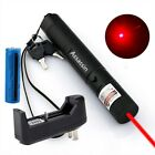 990Miles Assassin Laser Pointer Red Beam Rechargeable 18650 Lazer Pen+Charger