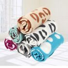 Soft Warm Pet Fleece Blanket for Dogs Cats Puppy Bed Mat Pad Cover Cushion