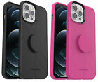 OtterBox + Pop Case for Apple iPhone 12 & iPhone 12 PRO (ONLY) Black/Rose
