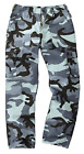 Men's Bdu Military Army Combat Cargo Night Camo Work Trousers M65 Pants 28-46