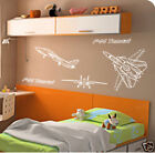 F14 AIRPLANES CHILDRENS BEDROOM wall decal sticker