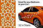 STAR STICKERS car decals wall decal wall sticker x 32