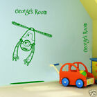 FLYING ROBOT & CUSTOM NAME large wall sticker decal art