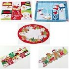 Christmas Winter Placemats OR Table Runner NWT U Pick!