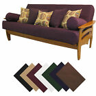 Solid Upholstery Grade Futon Cover Choose Size  Color