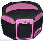 Pink Pet Gear Dog Cat Pen Travel Lite Octagon Removable Top up to 30-60-90