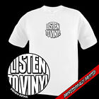 LISTEN TO VINYL records ONE OF A KIND round logo TSHIRT
