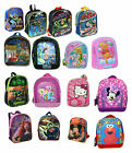 Licensed Disney Kids Girls Boys Toddler Preschool School Mini Backpack Bag NEW