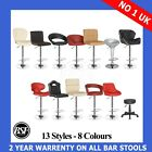 4 New Leather Kitchen Breakfast Bar Stools Barstools
