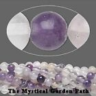"16"" Std Rainbow Fluorite Natural Round Beads 4,6 or 8mm"