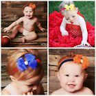 Baby Gear College Football Sports Team Headband Bow