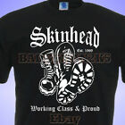 SKINHEAD Boots WORKING CLASS and PROUD SCOOTER SkA MENS T-SHIRT