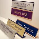 old navy sign up email - NAME PLATE for office desk or door sign / plaque - personalized by Lasercrafting