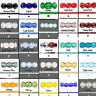 120 Translucent Czech Fire Polished Glass Beads 3mm **Many Colors Available