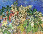 "Vincent Van Gogh- Blossoming Chestnut Branches - 20""x26""   on Canvas"