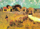 "Vincent Van Gogh- Farmhouse in Provence - 20""x26""   on Canvas"