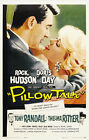 "Rock Hudson & Doris Day in Pillow Talk - 24""x36"" Canvas Classic Movie Poster"