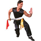Southern Style Sleeveless 100% Silk Kung Fu Uniform Gi Black Red or White