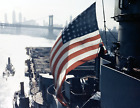 USS FRANKLIN CV 13 Naval Ship Photo Print, USN Navy