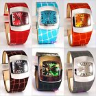 Retro Vegan Eames Ossie Goth Croc Gator Funky Club Punk Ladies Bubble Pod Watch