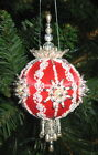 Beaded Christmas Ornament KIT - Satin N Lace