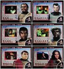 Star Trek TOS 35th Anniversary FEDERATION FOES Card Singles FF1-FF6