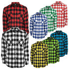 URBAN CLASSICS CHECKED FLANELL HEMD HOLZFÄLLER BUTTON DOWN KAROHEMD BAUMWOLLE