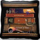 Classic Tails II by Charles Wysocki Art Tapestry Pillow Jacquard Woven Cotton
