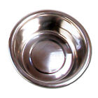 Deluxe Stainless Steel Metal Dog Puppy Bowl Feeder Dish Small Medium Large Xl