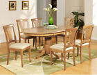 5PC OVAL DINETTE KITCHEN DINING ROOM TABLE & 4 CHAIRS