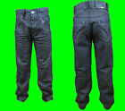 SALE Boys ENZO Designer Dark Denim Black White Jeans Waist Size 25 26 27 28 29